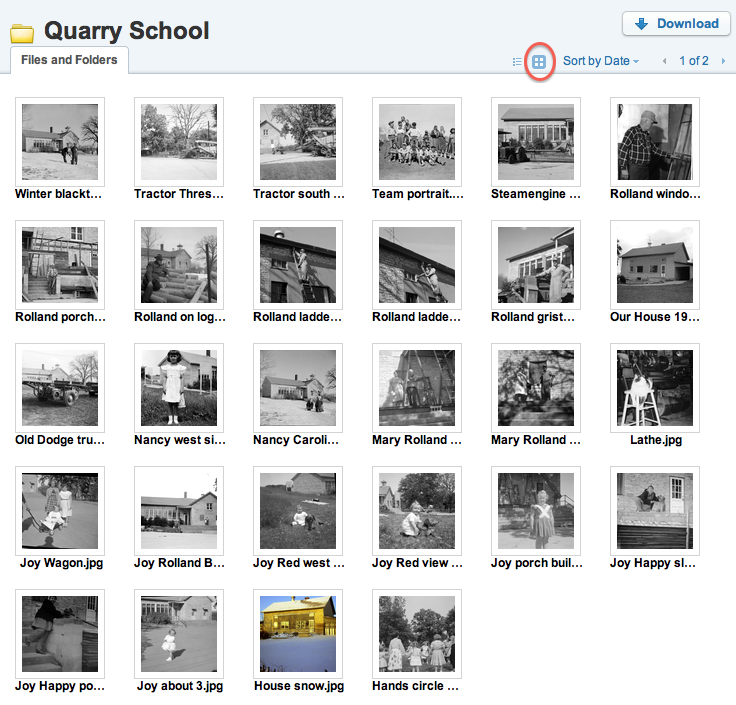 Quarry School/Quarry Elementary photos being added to cloud storage