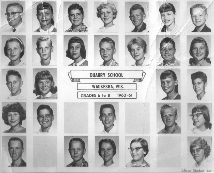 Quarry Elementary 6th-8th grades, 1960-61