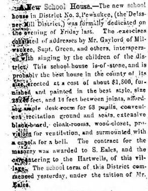 11-24-1868 paper of 11-20 dedication